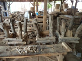 reclaimed teak branch furniture, indonesia green furniture