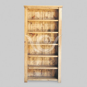Papua Bookcase Reclaimed Teak