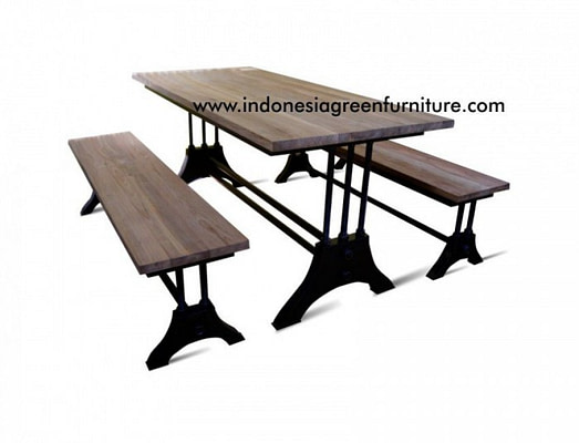 Purosani Industrial Bench Ori Plat Indonesia Industrial Furniture