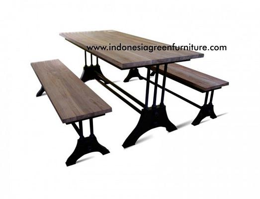 Purosani Industrial Bench Ori Plat Indonesia Industrial Furniture