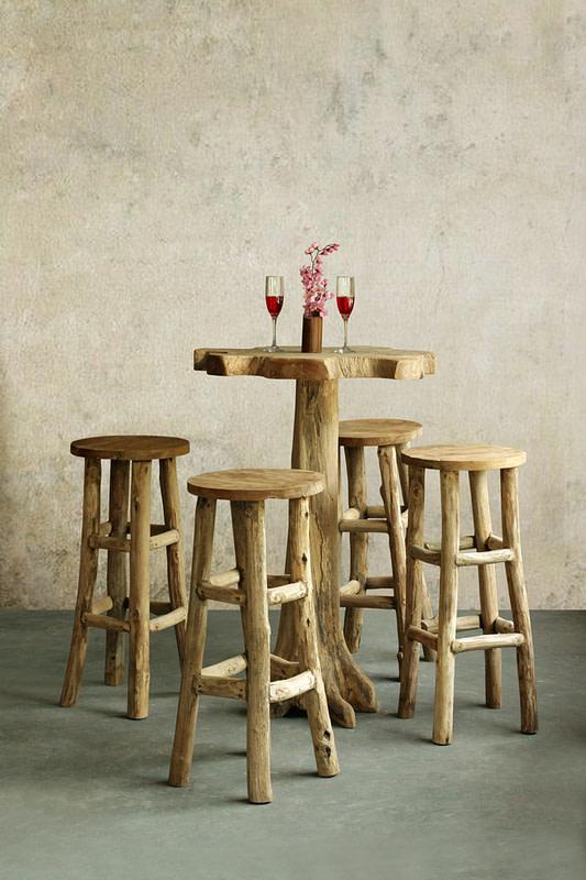 Reclaimed Wooden Restaurant Table Tops