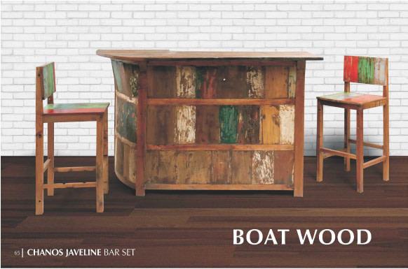 Chanos Javeline Bar Ser Reclaimed Furniture