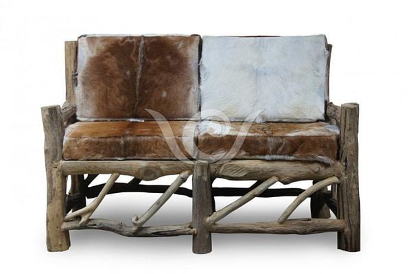 Java Goat Leather Sofa 2 Seater