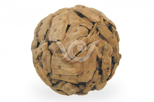 Sliced Teak Root Ball
