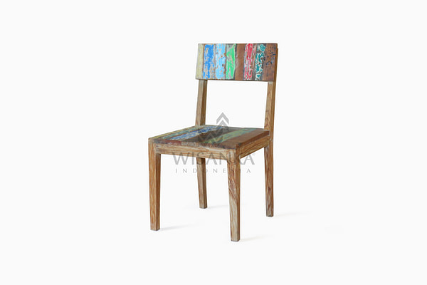 Reclimed Boat PARI DINING CHAIR